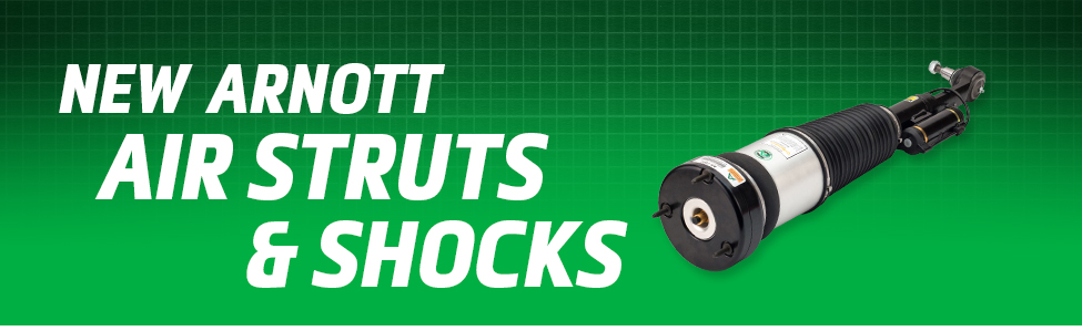 Arnott Air Suspension Products for New Air Struts & Shocks