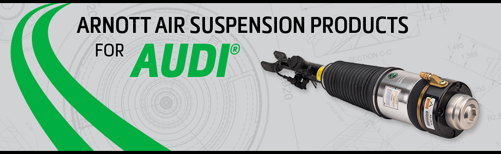 Arnott Air Suspension Products for Audi