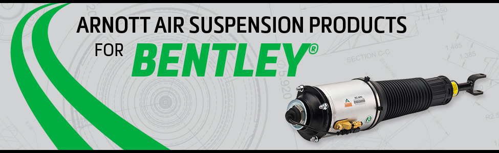 Arnott Air Suspension Products for Bentley