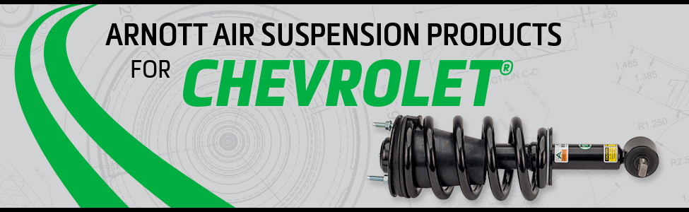 Arnott Air Suspension Products for Chevrolet