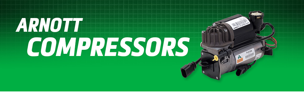 Arnott Air Suspension Products for Air Suspension Compressors
