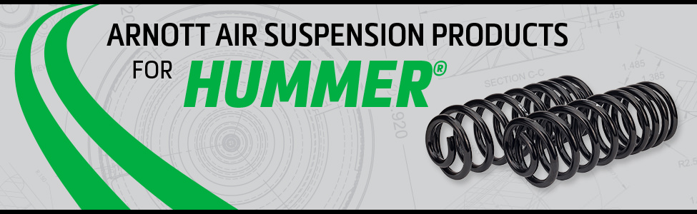 Arnott Air Suspension Products for Hummer