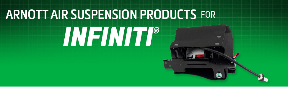 Arnott Air Suspension Products for Infiniti