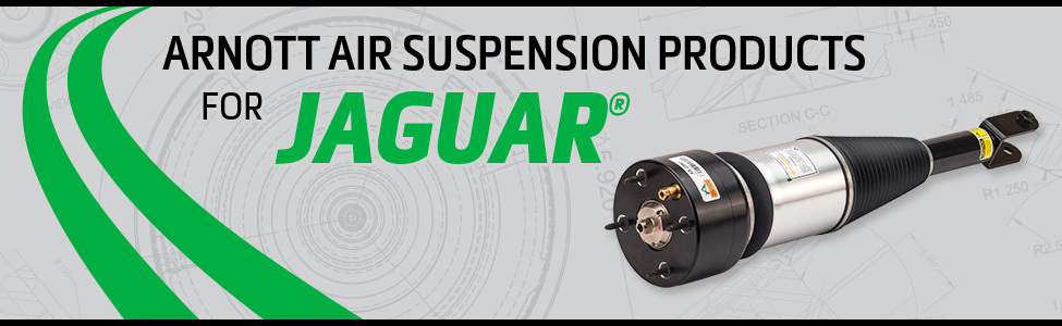 Arnott Air Suspension Products for Jaguar