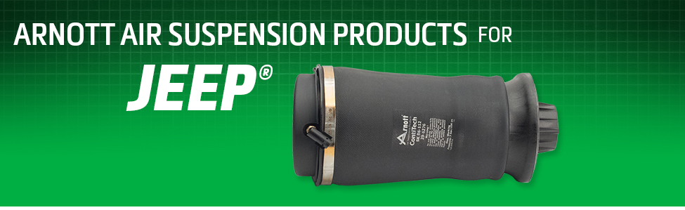 Arnott Air Suspension Products for Jeep