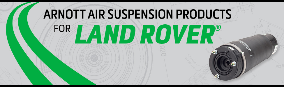 Arnott Air Suspension Products for Land Rover