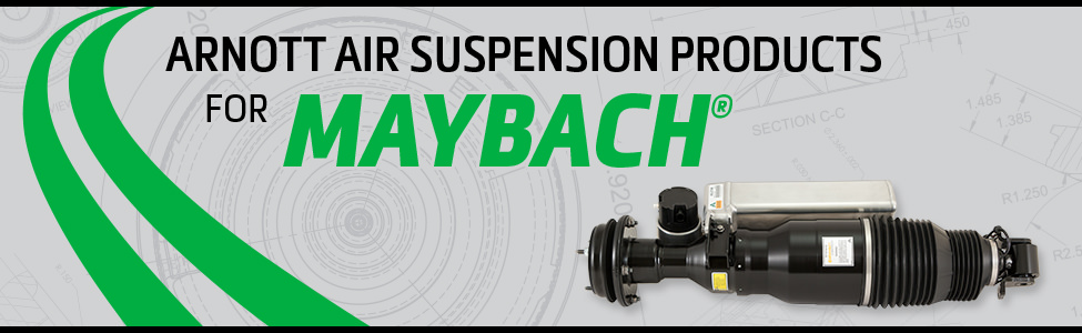 Arnott Air Suspension Products for Maybach