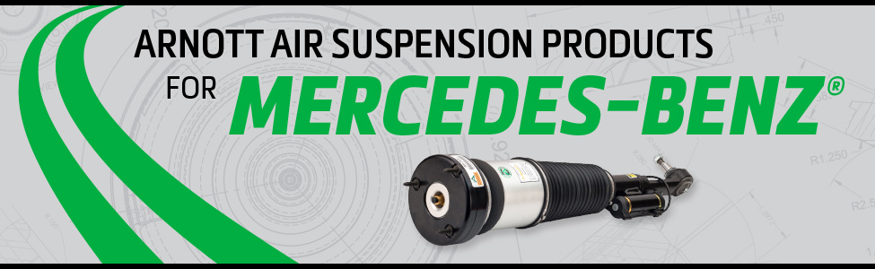 Arnott Air Suspension Products for Mercedes-Benz