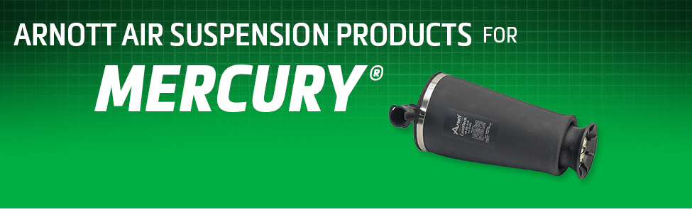 Arnott Air Suspension Products for Mercury