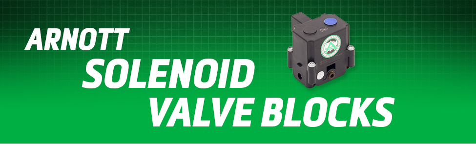 Arnott Air Suspension Products for Solenoid Valve Blocks