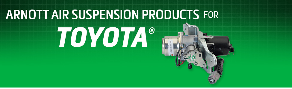 Arnott Air Suspension Products for Toyota