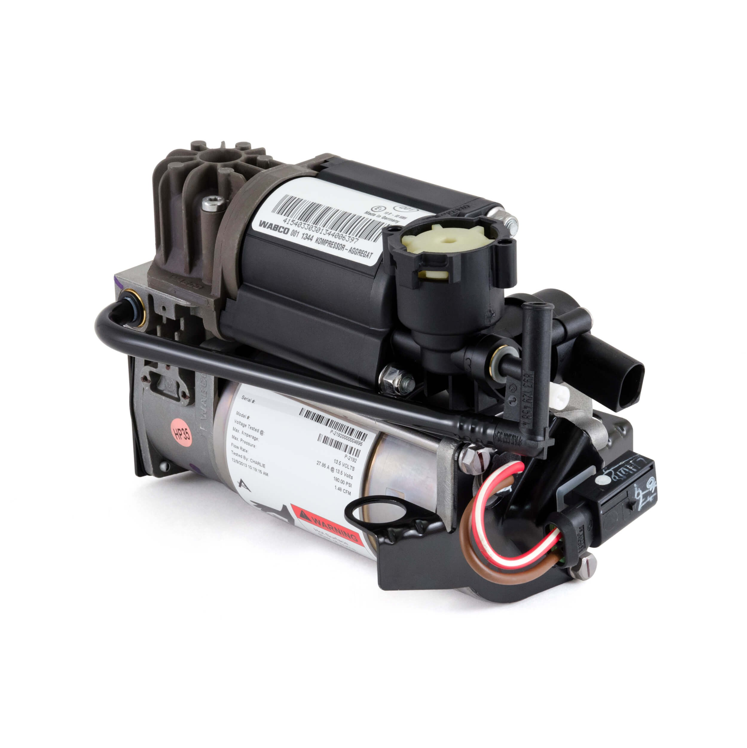 WABCO OES Air Suspension Compressor - 00-06 Mercedes-Benz S-Cl ... on