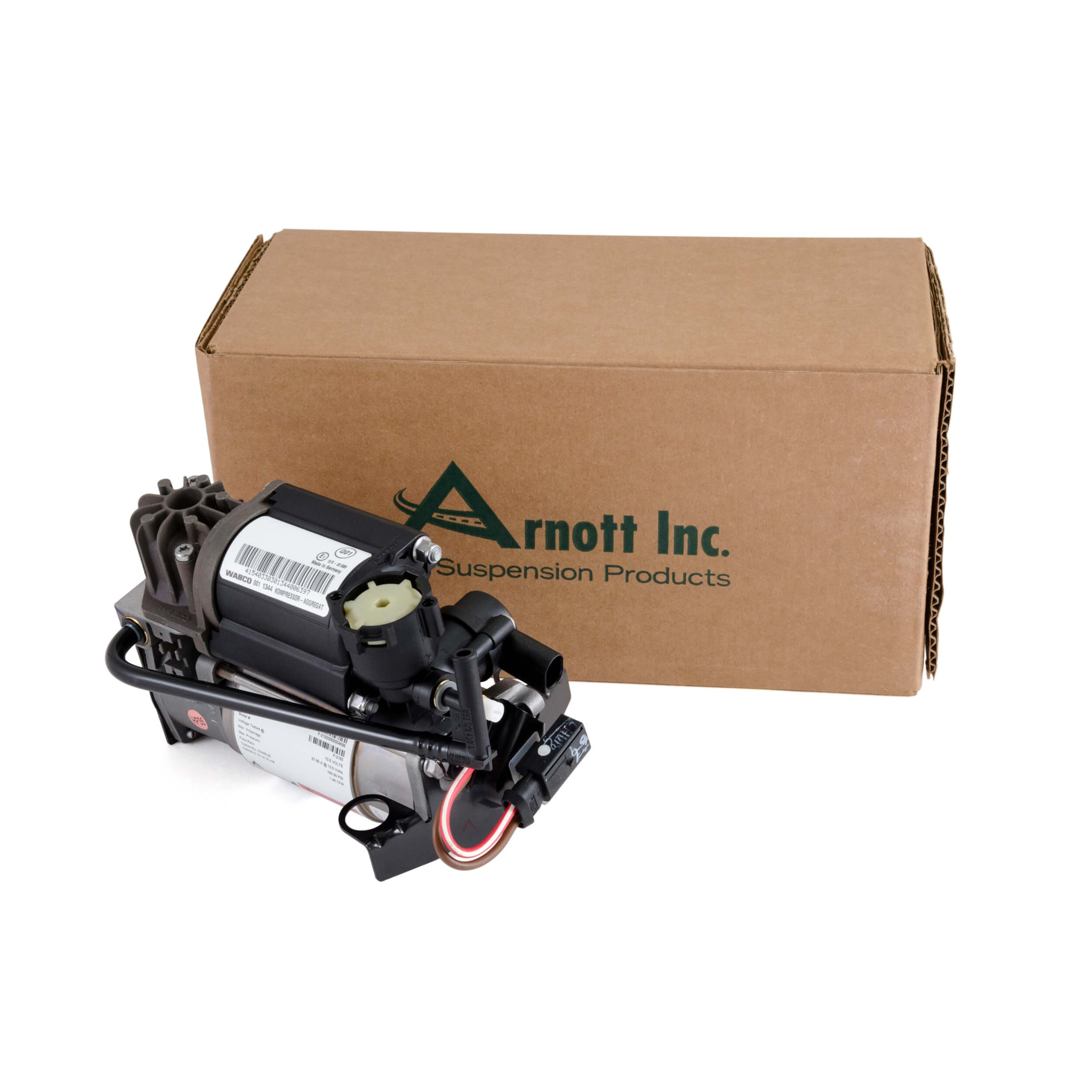 WABCO OES Air Suspension Compressor - 00-06 Mercedes-Benz S-Class