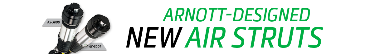 Arnott-Designed New Air Struts